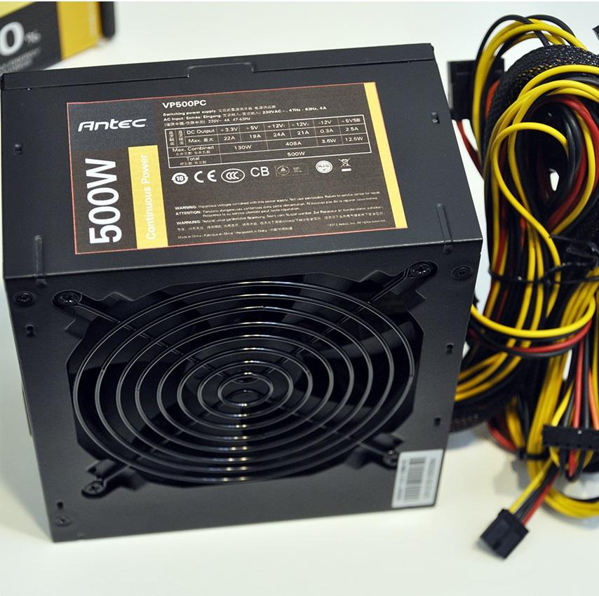 Nguồn Antec 500W(CS thực 500W)