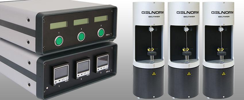 Thiết bị đo thời gian Gel Hóa 03 kênh ( Gelnorm - Gel Timer PTC-3)